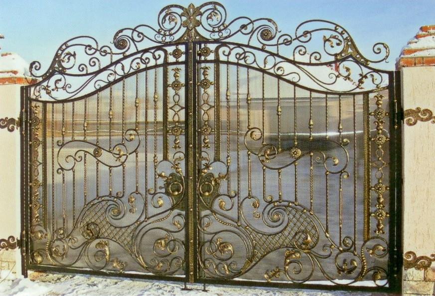 Ворота откатные Бородянка